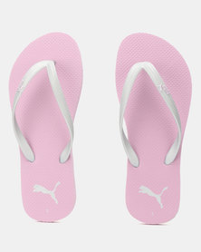 Puma Sportstyle Core First Flip Wn s ZADP Flip Flops Winsome Orchid-Puma Silver