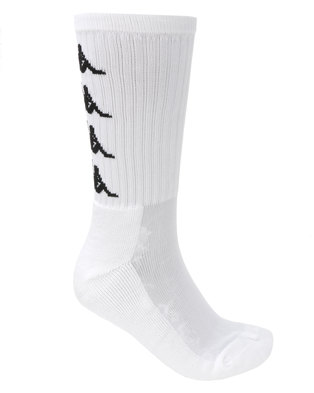 Kappa Authentic Amal 1P Socks White/Black