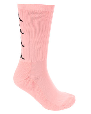 Kappa Authentic Amal 1P Socks Pink/Black