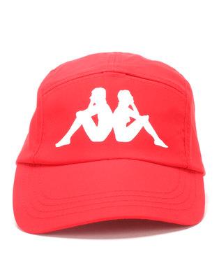 Kappa Paradiso Non-Omini Peak Cap Red
