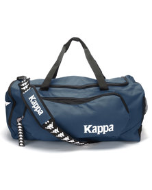 Kappa Como Medium Duffel Navy