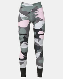 Puma Sportstyle Prime Chase Leggings AOP Iron Gate