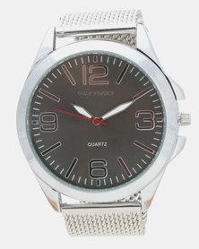 Bad Boy Axle Watch Silver-tone