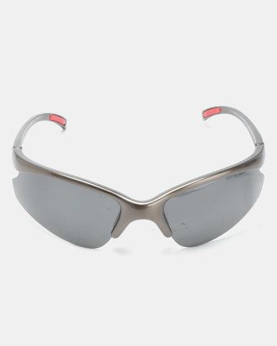 e1c6ccb70a587 Bad Boy No Limit Polarised Sunglasses Grey Red