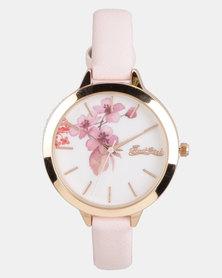 Bad Girl Bloom Watch Pink