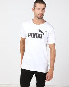 Puma Sportstyle Core ESS Logo Tee White