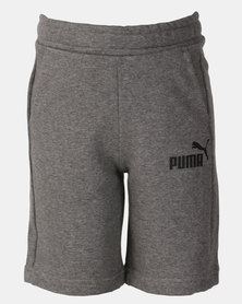 Puma Sportstyle Core Boys Sweat Shorts Grey