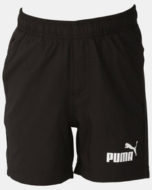 Puma Sportstyle Core Boys ESS Woven Shorts Black
