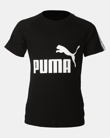 Puma Sportstyle Core Boys Tape Tee Black