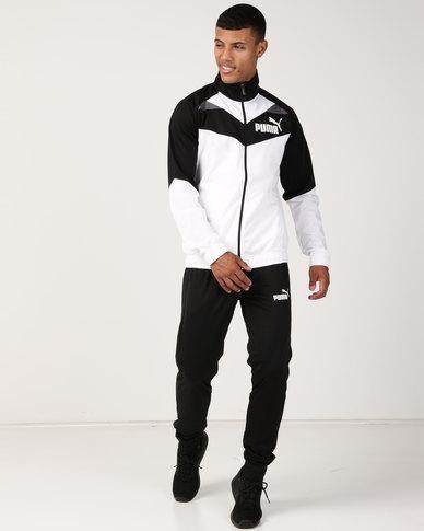 Puma Sportstyle Core Iconic Tricot Suit Track Suit Black