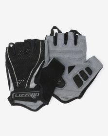 Lizzard Active Digit Short Fingered Mens Gloves Black/Grey