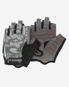 Lizzard Active Viserion Short Fingered Mens Gloves Grey