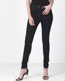 Levi's ® 721 High Rise Skinny Jeans Cast Shadows