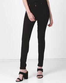 Levi's ® 721 High Rise Skinny ZA Jeans Black Sheep