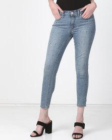 Levi's ® 711 Skinny Ankle Jeans Money Maker