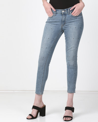 84baa708b3e9 Levi's ® 711 Skinny Ankle Jeans Money Maker | Zando