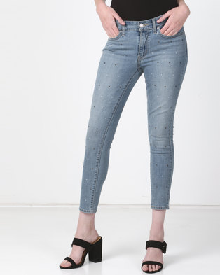 Levi s ® 711 Skinny Ankle Jeans Money Maker ae58009250