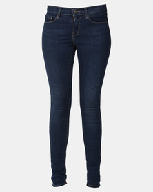 Levi's ® Curvy Skinny Jeans Deep Blue Cosmos