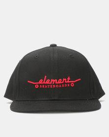 Element Boys Youth Decks Cap Black