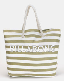Billabong Suns Out Beach Bag Olive
