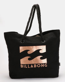 Billabong Big Waves Beach Bag Black