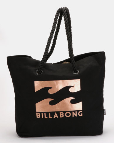 Billabong Big Waves Beach Bag Black