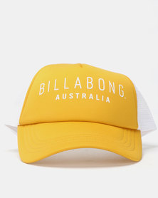 Billabong All Time Trucker Yellow/White