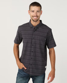 Element Helli Short Sleeve Shirt Blue
