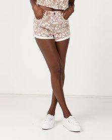Billabong Overdrive Babycakes Shorts Cayenne