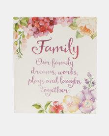Splosh Women We Love Verse Family Plaque