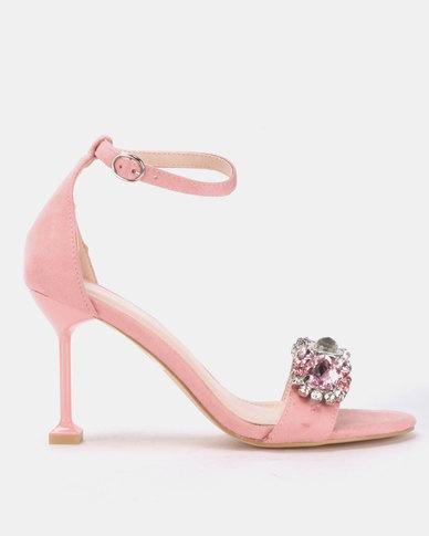 Miss Black Dumura Heels Pink