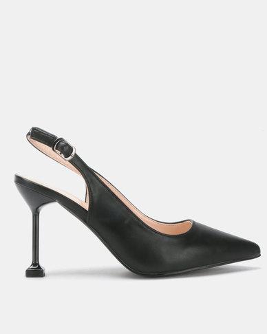 Miss Black Elba Heels Black