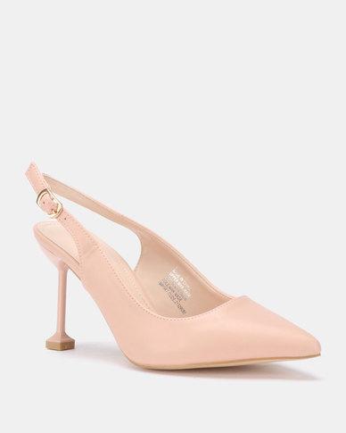 Miss Black Elba Heels Pink