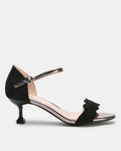 Miss Black Hope Low Heels Black