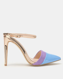 Miss Black Rex Heels Blue