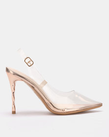 Miss Black Gaines Slingbacks Clear
