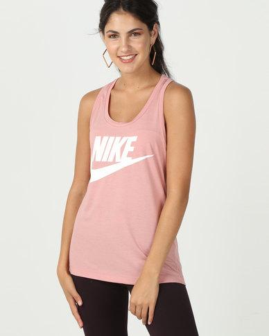 Nike W Nsw Essntl Tank Hbr Pink  6fee27ec3d7