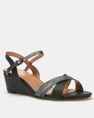 0d928e7113c1 Butterfly Feet Nalayka Wedges Black