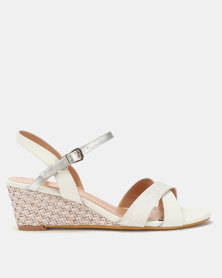 Butterfly Feet Nalayka Wedges Grey