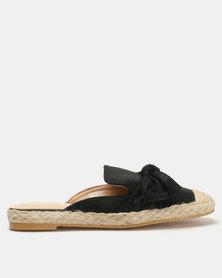Butterfly Feet Nafeesa Flats Black