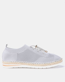 Butterfly Feet Tracy Flats Grey