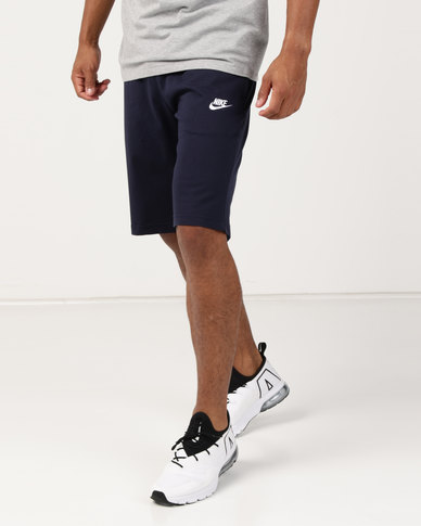 Nike M Nsw Club Shorts Jsy Navy  54e531e83623