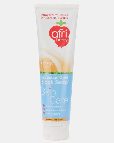 Afri-Berry Moroccan Gold Black Soap Skin Care 150ml