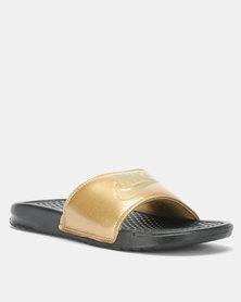cb517a94fb5471 Nike Benassi JDI Slide Black