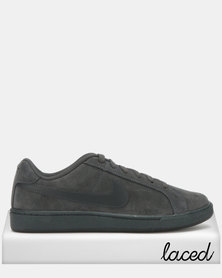 Nike Court Royale Suede Sneakers Anthracite/Black