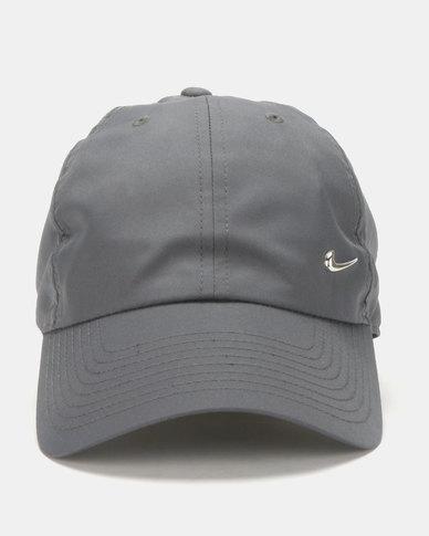 ec96ed8a701a6 Nike Nk H86 Cap Metal Swoosh Grey