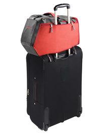 Hunters Pet Skien Carrier Bag Red and Black