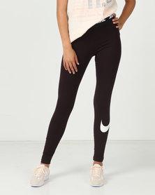 Nike W Nsw Leggings Club HW Red