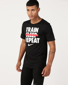 Nike Performance M Nk Dry Tee DFC Verb Black