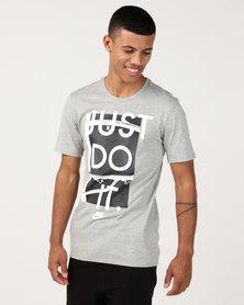 Nike NSW JDI Tee Grey Heather